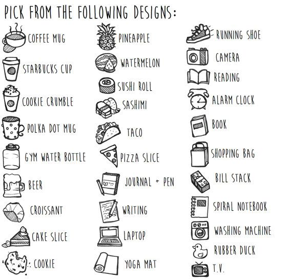 Stickers personnalisé Doodle nouveaux par TheCoffeeMonsterzCO
