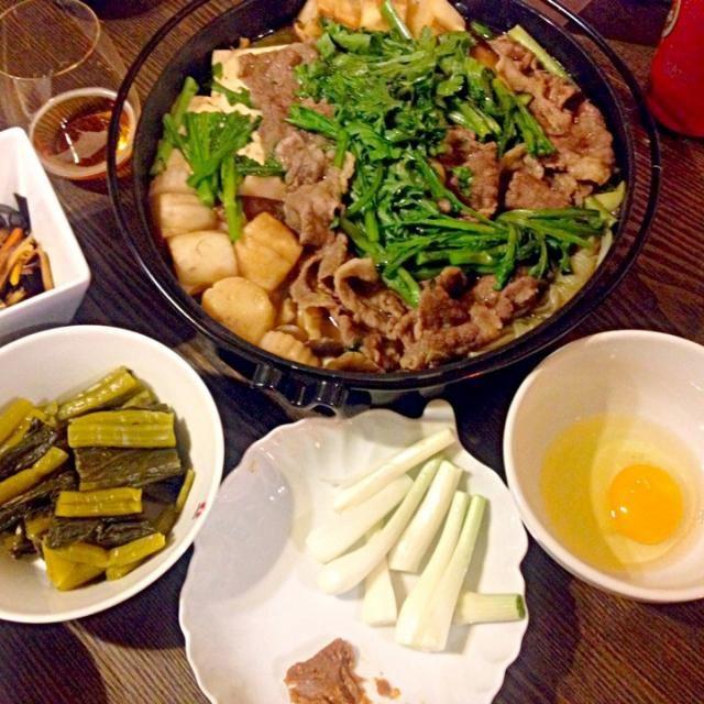地元野菜で作りました。葉山牛は使えなかったけど… - 3件のもぐもぐ - 三浦野菜のすき焼き by sakamichi