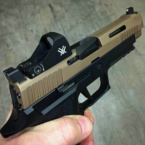 "ronray267: ""@Regranned from @mod1firearms - V-Tac Sig P320"
