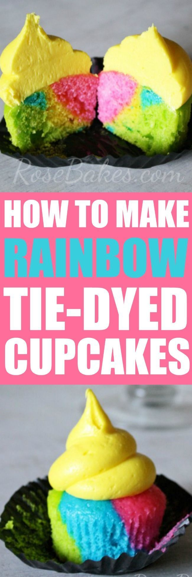 1774 best cake decorating tutorials images on pinterest for How to make tie dye roses