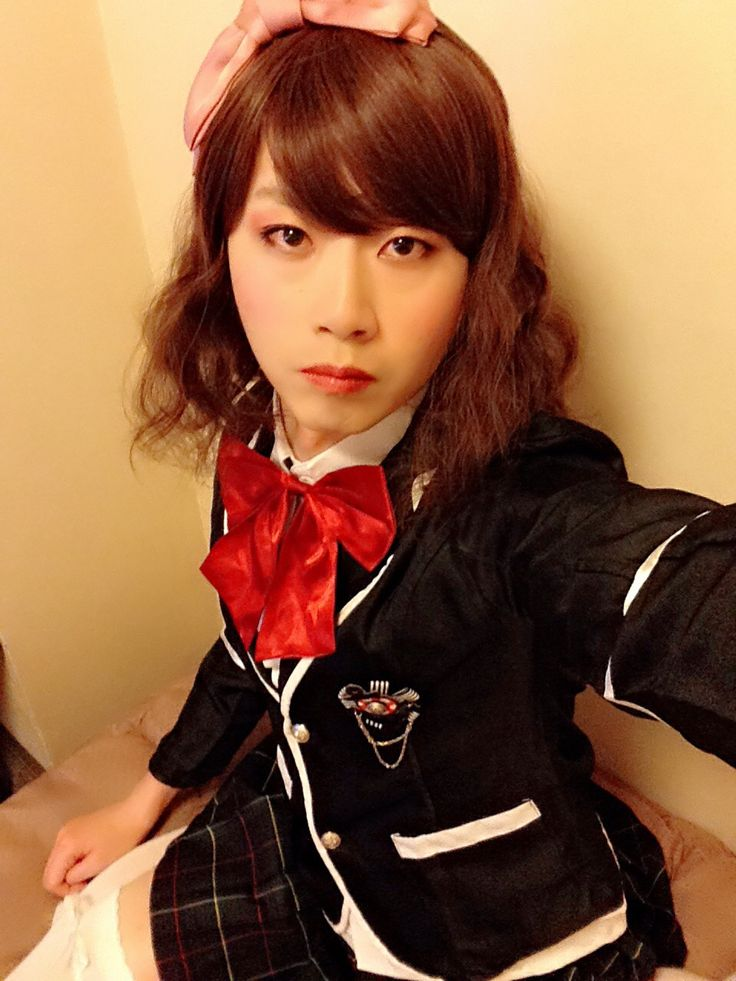 JK制服♡(SAKURAノコ@女装・crossdresser)