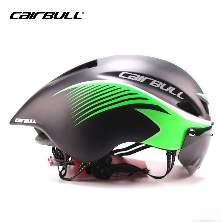 CAIRBULL Triathlon MTB Road Bike Helmet Bicycle Integrally-Molded Aerodynamic Sport Cycling Helmet With Goggles Casco Ciclismo #Affiliate