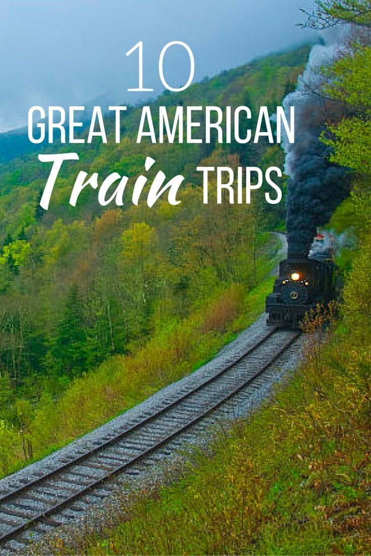 Train Trip Across Usa: All Aboard! Locomotive Enthusiasts Won't Want To Miss