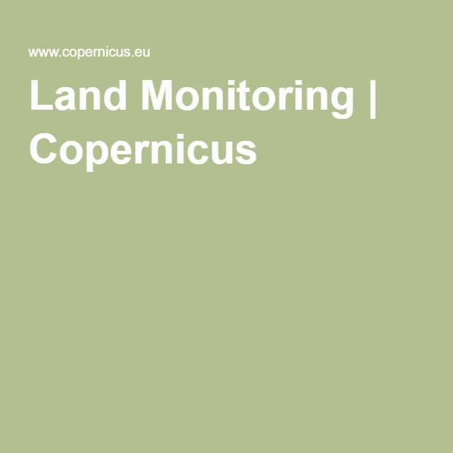 Land Monitoring | Copernicus