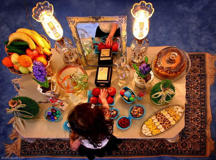 Looking With Yekta At our Haft-Seen table for Norooz. Today is the first day of spring, and I'd like to wish you all a year full of health, success and above all happiness. ... Haft-Seen (Persian: هفتسین) or the seven 'S's is a traditional table setting of Norooz, the traditional Iranian spring celebration. The haft seen... #ایران #LookingWith #Norooz #Haftseen #BandarLengeh #Hormozgan #Iran http://www.lookingwith.com/home/photo/161