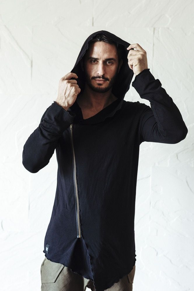 Image of JEDI Hoodie - Black - Extremely soft and stylish bamboo hoodie