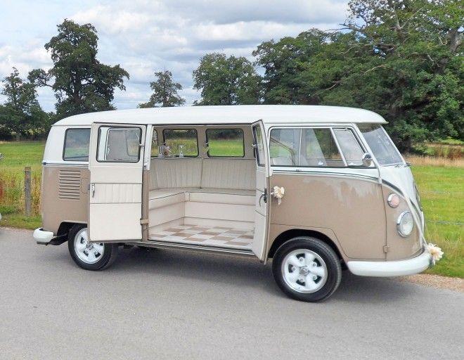 Abbe VW splitscreen Wedding camper van Northamptonshire