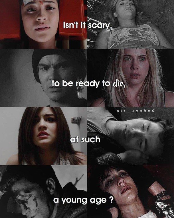 #PLL this is actually goddamn scary omg