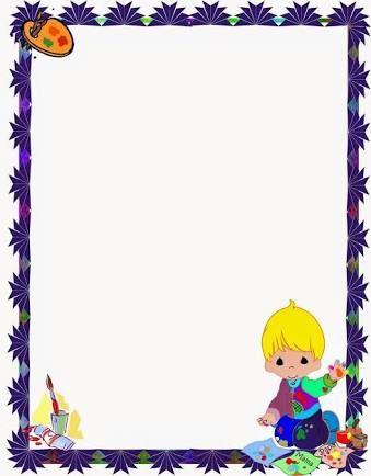 Resultado de imagen para caratula de datos personales para niños