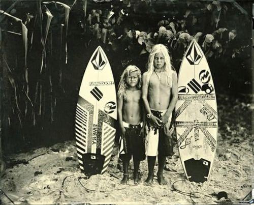surf hippie kids