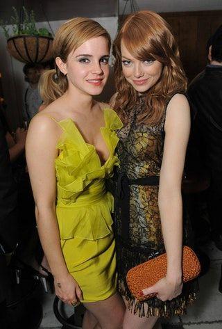 with Emma Watson : EmmaStone