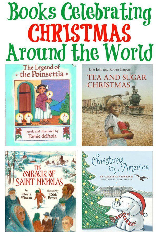 Christmas Around the World Picture Books for kids.