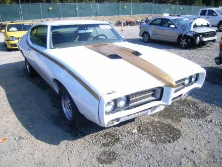 Old GTO Pontiacs For Sale.