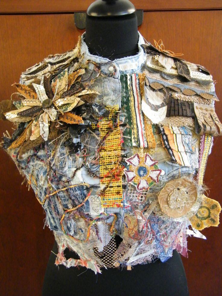 GCSE Textiles- Armour project
