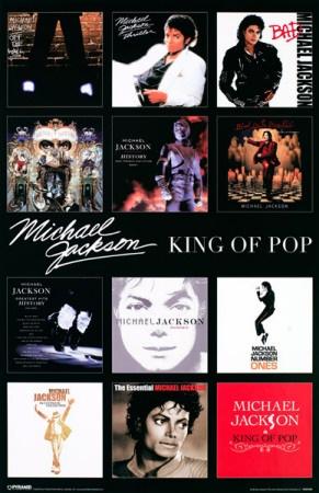Michael Jackson - Album Covers