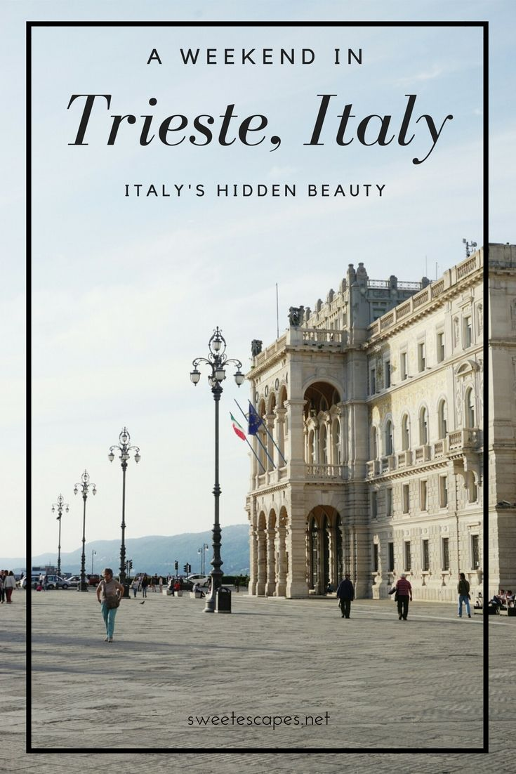 Between the rugged Karst hills and the ocean lies one of the most underrated cities of Italy: A trip to Trieste is a cultural and culinary adventure boasting with grand architecture and some of the best coffee in the world!