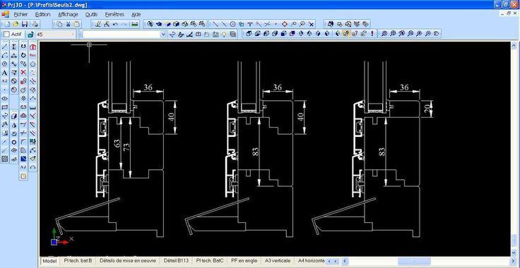 SETii-sarl Tous les logiciels Bâtiment (DAO, CAO, Gestion, Solutions Métiers) - PRJ_2007 et PRJ 3D : pour dessiner en 2D/3D.