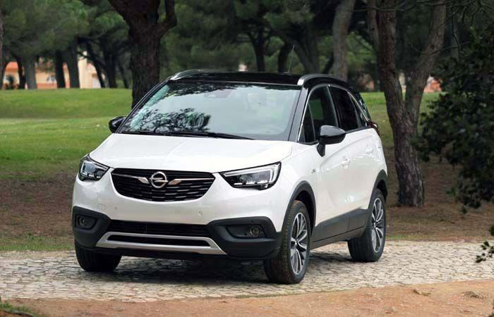 2018 Opel Crossland X overview