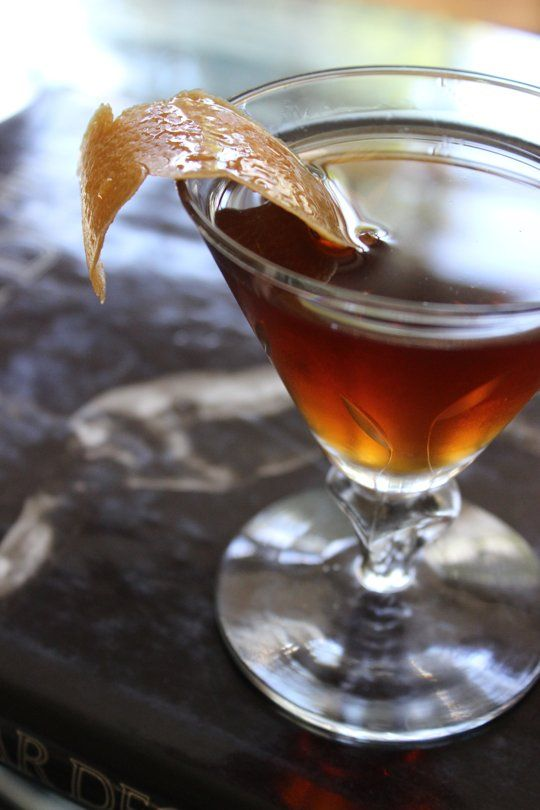 Rob Roy Cocktail Serves 1 2 ounces of Blended Scotch Whiskey 1 ounce ...