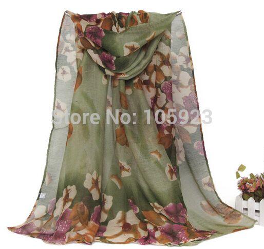 voile large scarf 2014 fashion wrap Shawl 180*90cm winter scarf 10pcs/lot 7 colors