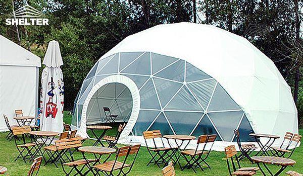 Shelter corturi profesionale de tip dom, ca fiind cel mai utilizând spațiu structura temporar în lume, sunt aplicate pe scară largă la diverse evenimente.