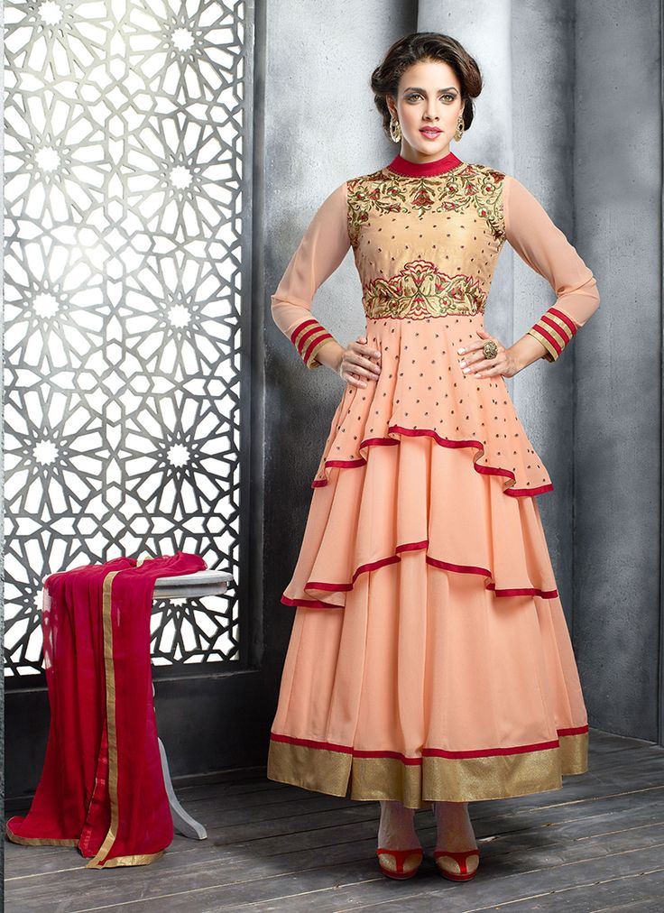 Low Price Georgette Latest Anarkali Suits Collection - Buy Now @  http://www.suratwholesaleshop.com/A11010-Savory-Georgette-Orange-Resham-Work-Anarkali-Suit?view=catalog  #Specialeidanarkalisuit #eidonlinewholesaleanarkalisalwarsut #Supplieranarkalisuit #Onlineanarkalisuit #Bulkanarkalisuit #Suratwholesaleshopanarkalisuit #eidbestcollectionanarkalisuit #Wholesaleanarkalisuit #Designeranarkalisuit