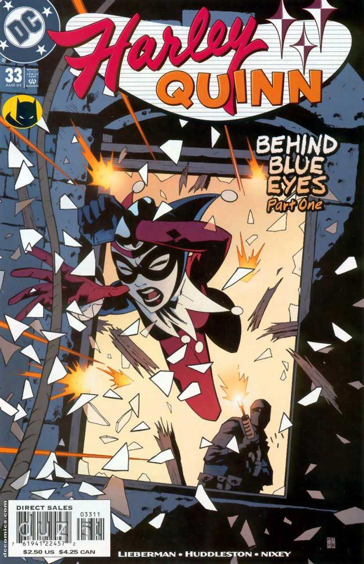 2003-08 - Harley Quinn Volume 1 - #33 - Behind Blue Eyes: Part 1 #HarleyQuinnComics #DCComics #HarleyQuinnFan #HarleyQuinn #ComicBooks