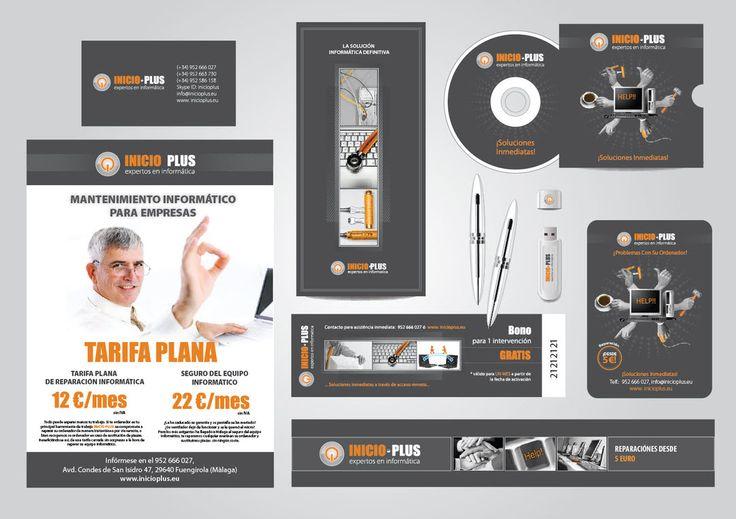 Разработка названия для сервисного центра (#нейминг), #создание логотипа, #айдентики, #дизайн буклетов, #постеров, #билборда. #Малага, #Испания, #Дизайнер.Up Design Spain +34 677 288 510 мы говорим по-русски
