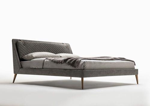 King size bed / double / original design / fabric CHELSEA BERTO SALOTTI