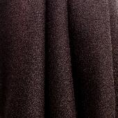 Empire Brown-Wool Crepe