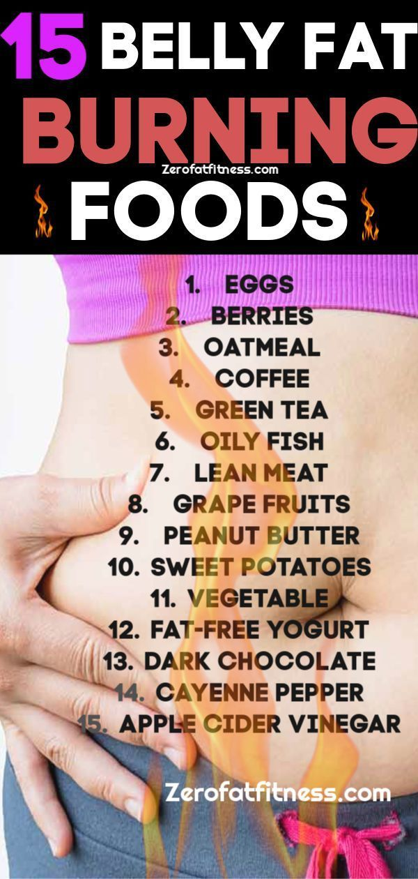 15 Best Belly Fat Burning Foods for Fast Weight Lo…