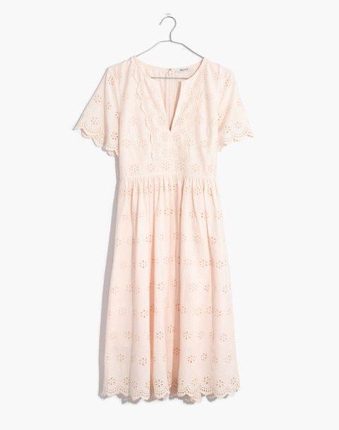 2ee425fd01b1 Scalloped Eyelet Midi Dress in 2019 | Coveted Items | Dresses, Madewell  dresses, Eyelet dress