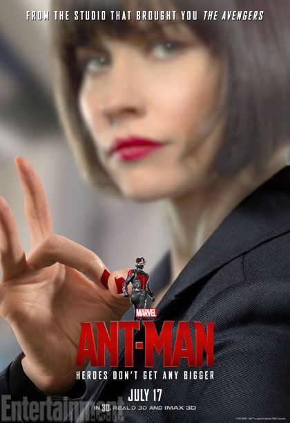 Evangeline Lilly as Pym's daughter, Hope Van Dyne  #AntMan