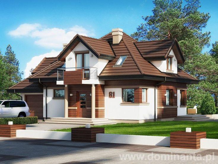 Energooszczędny projekt domu Rumcajs o powierzchni prawie 130 metrów kwadratowych. Idealnie nada się dla młodej rodziny. Dostępny w promocji na stronie http://www.dominanta.pl/