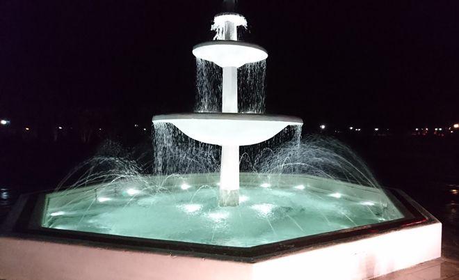 Το ιστορικό σιντριβάνι του πάρκου της Κατερίνης ξαναλειτουργεί
