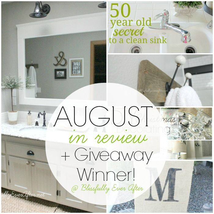 August-in-Review-2013 at Blissfully Ever After. Tons of projects and inspiration!