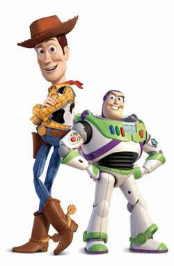 Toy Story's Woody and Buzz