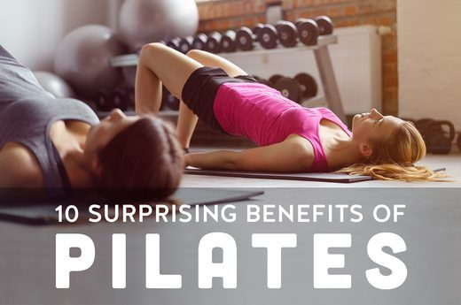 10 Surprising Benefits of Pilates