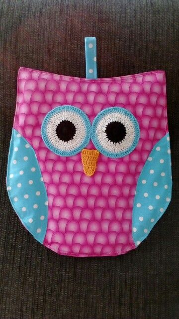 Owl pot holder