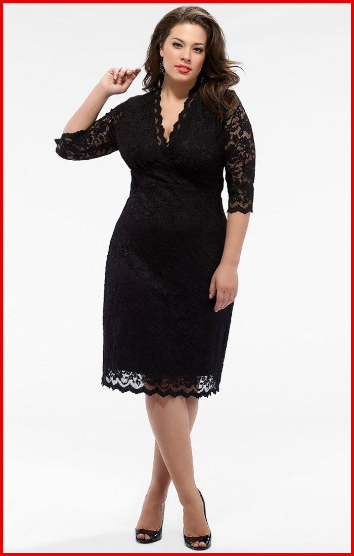 Plus size black and white semi formal dresses