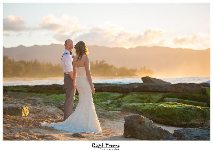 Beach Wedding Ceremony Oahu: 11 Best Papailoa Beach Wedding On North Shore Oahu Images