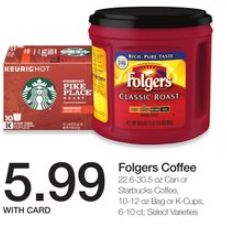 Starbucks Coffee 10/12oz Ground or 10 Count K-Cups for $4.99 at Kroger through 01/23! – Frugal Harbor
