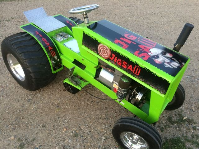 Garden Tractor Pulling Sticker : Best hot rod tractors images on pinterest pedal cars