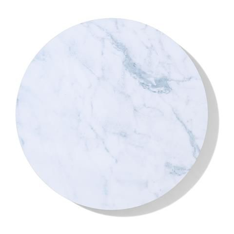 Kmart Round Marble Effect Corkback Placemat X 4