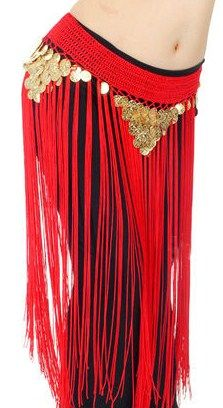 When you are in the mood for fringe!  Crotchet coined fringed hip scarf