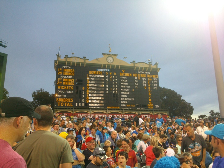'Beautiful and historic scoreboard at Adelaide Oval' said previous pinner • Adelaide's best