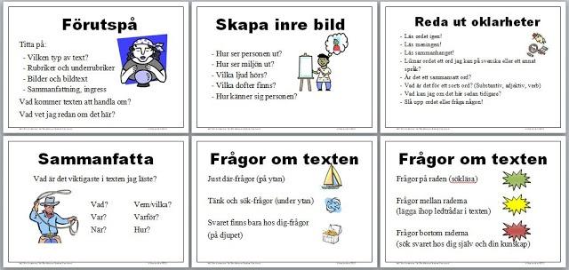 Matematikutveckling i Skara: Läsförståelsestrategier