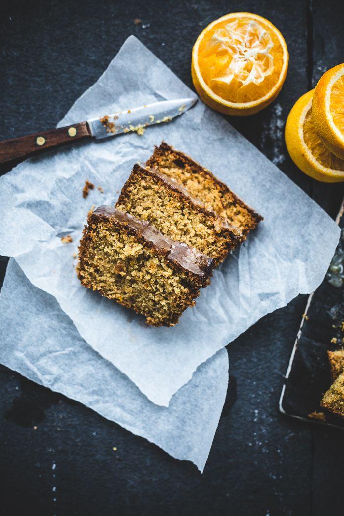 Orange Spelt and Almond Cake {vegan} | topwithcinnamon.com