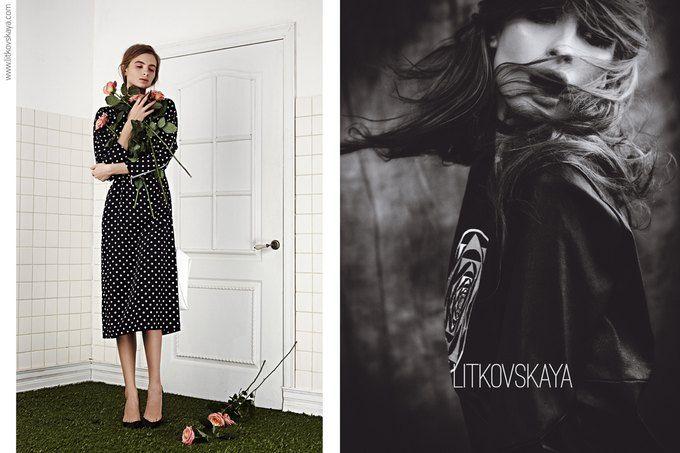 Показана весенне-летняя кампания марки Litkovskaya — Look At Me — MAG — поток «Новости»