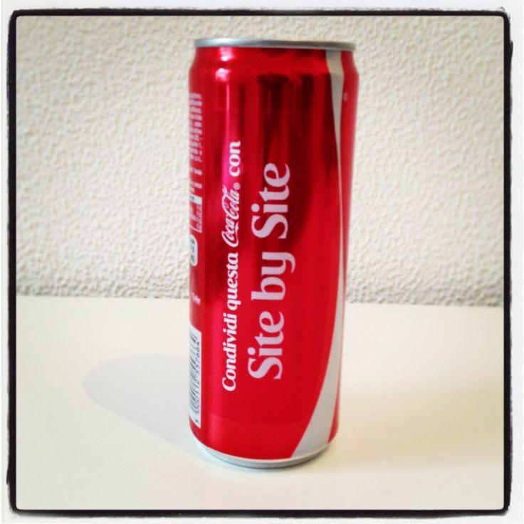 Condividi questa #CocaCola con #SitebySite!!! :)